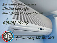 Air Conditioner Duct Free   $1999!!!