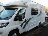 SPACIOUS LOW-LINE MOTORHOME WITH LARGE WASHROOM