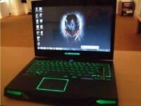 Alienware m14x gaming laptop i7 processor 8gb ram geforce graphics for swap