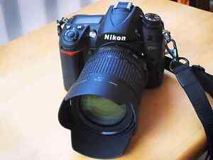 Nikon D7000 with lenses and case $780 obo