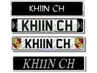 KHAN CHOUDRY Private Number Cherished 786 Plate Reg Private Reg Plate For BMW & AUDI Mercedes GOLF