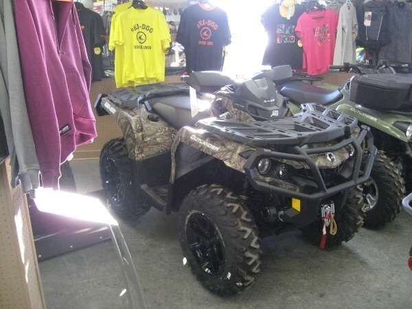 Used 2017 Can-Am outlander-xt-850-camo
