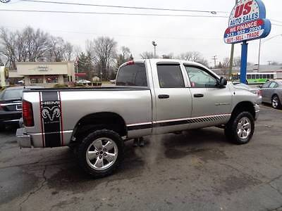 RAM Faded Strobe Rocker stripes Stripe Graphics FIT All Year and Model Dodge