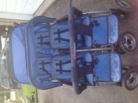 foundations Quad Stroller! Good working condition