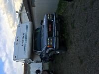 1996 Frontier camper trailer on 1994 Gmc 454