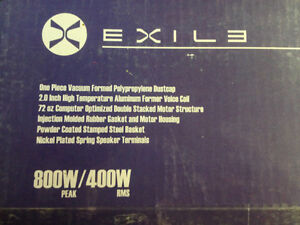 Four NEW 800 Watt  Exile Dual Voice Coil 12in Matched Subwoofers Cambridge Kitchener Area image 4