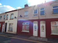 2 Bedroom, No Chain. With good size lounge-diner, fitted kitchen units, rear garden, decked area.