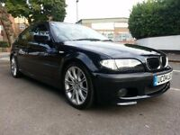 BMW M SPORT 330D E46 BLACK WITH FULL BLACK LEATHERS