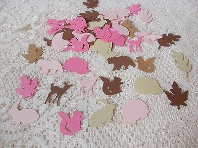 Woodland Animal Confetti  Great for Baby Showers and Birthdays  (150) Pieces
