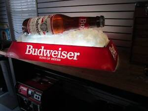 Wanted Budweiser Bottle pool table light