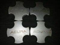 Set of 4 center caps for Acura