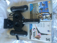 Playstation Move Bundle w Extra Motion Controller & 2 Games