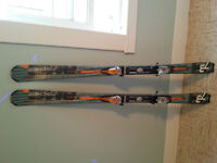 Pair of Fischer AMC73 Skis 164 cm