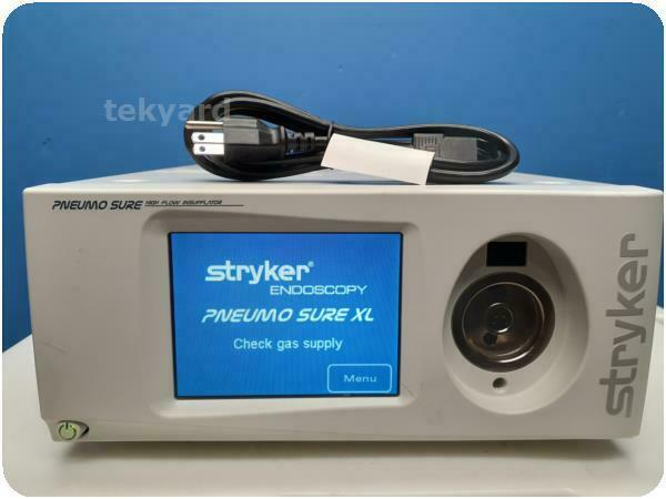 STRYKER ENDOSCOPY PNEUMOSURE XL 620-040-610 45L HIGH FLOW INSUFFLATOR % (250711)
