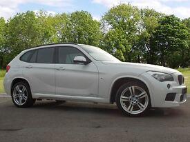 BMW X1 XDRIVE18D M SPORT (white) 2014