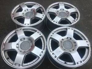 "Set of Genuine OEM Audi All Road 17"" rims in good used cond"