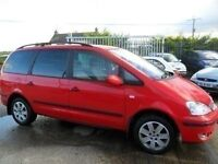 ford galaxy 1.9 tdi 7 setter red 2005 leather seat covers motd