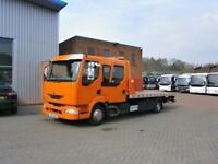 24-7 TOWING SERVICE LONDON VAN & CAR RECOVERY TRUCKS BREAKDOWN TOW TRANSPORTER ROADSIDE ASSISTANCE,
