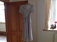 Beautiful Jacques Vert Mother of the Bride outfit Whisper Grey size 10/12 Excellent condition