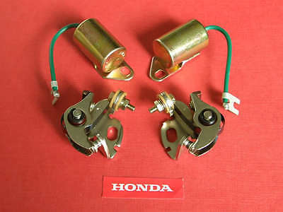 1970-78 Honda Condenser & Contact Points Kit cb750 cb750f cb550 cb500 cb breaker