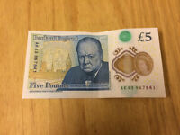 New £5 note ak43