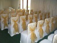 Wedding Chair Covers Event Decor DIY HIRE Luxury for less