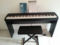 Yamaha Piano P-85 & Stand & Pedal & Bench (88 weighted keys)