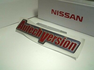 JDM OEM AUTECH BADGE EMBLEM DECAL NISSAN ROGUE X-TRAIL SILVIA SKYLINE From JAPAN