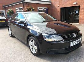 Volkswagen JETTA SE TDI BLUEMOTION TECHNOLOGY (black) 2013