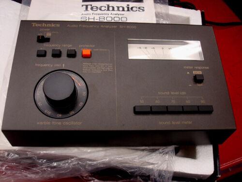 Technics SH-8000 Frequency Generator - NOS