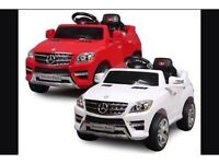 Mercedes-Benz ML350 6V Ride on Car are brand new for 2016 Only £110