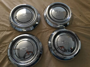 1964 Chev dog dish hubcaps