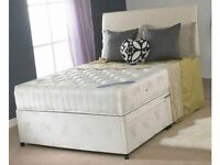 Brand New Single Double King Size Beds & Economy, Medium, Ortho, Memory Mattresses (Fast Delivery)