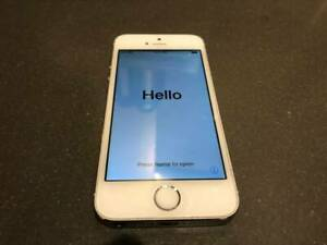 iPhone 5s White / Silver Unlocked 16 gb