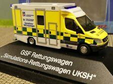 Rietze HO 1:87 Modell 76225 #E Rettungswagen Johanniter Oldenburg