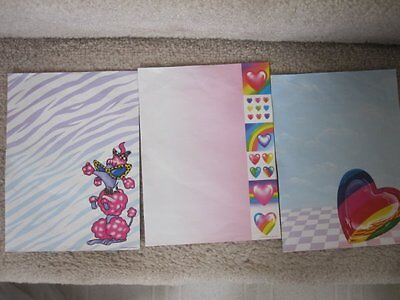 Lisa Frank Fun Pack Stickers Stationery Note Card Ruler Clip 90's Vintage - 90s School Supplies