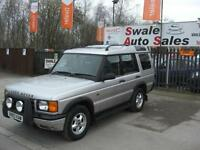 2000 LAND ROVER DISCOVERY 2.5 TD5 GS 4 WHEEL DRIVE, 7 SEATER IN GOOD CONDITION