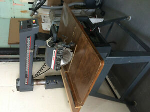 "Sears 10"" Radial Saw on Stand"