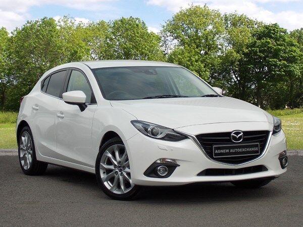 Mazda 3 SPORT NAV (white) 2014 | in Castlereagh, Belfast ...2014 Mazda 3 White