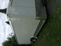 8.5 X 20 Enclosed Trailer With Screwless Finish