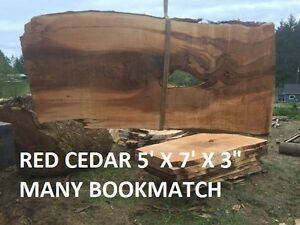 LIVE EDGE SLABS KILN DRY / PLANED / SANDED