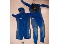 Wetsuit - Beauchat Focea - 2 Piece modular 5mm/10mm.
