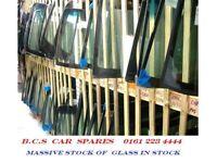 FORD FOCUS KA MONDEO C-MAX WINDOWSCREEN REAR GLASS DOOR GLASS USED 2001 - 2015