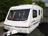 SWIFT CHALLENGER - LUXURY 4-BERTH TOURING CARAVAN
