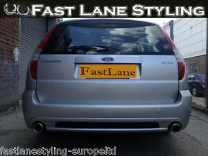 Ford Mondeo Custom Built Stainless Steel Exhaust Rear Dual System