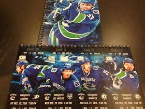 Vancouver Canucks Tickets To Multiple Games, Row 2 on Aisle Hard