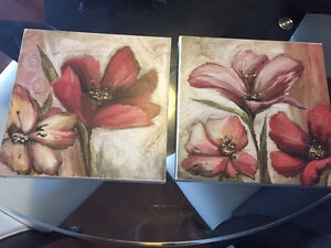 Floral Canvas Pictures