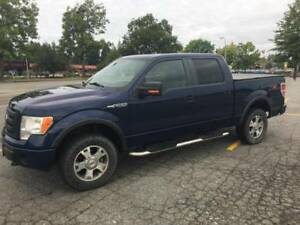 2009 Accident-free Ford F-150 FX4 SuperCrew with 166,000 km
