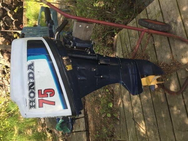 Used 1990 Honda 7.5 hp outboard