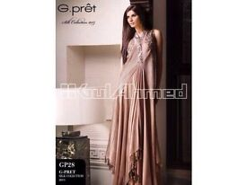 Pakistani designer Gul Ahmed pret dress medium